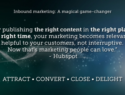 Why inbound marketing is a magical game-changer